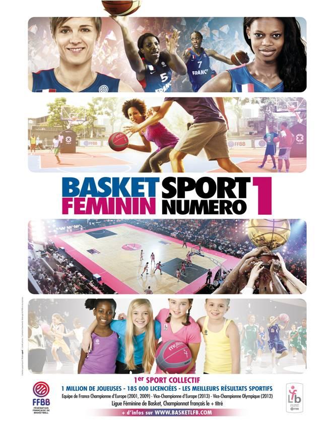 Affiche_Basket_Feminin_Sport_Numero_1