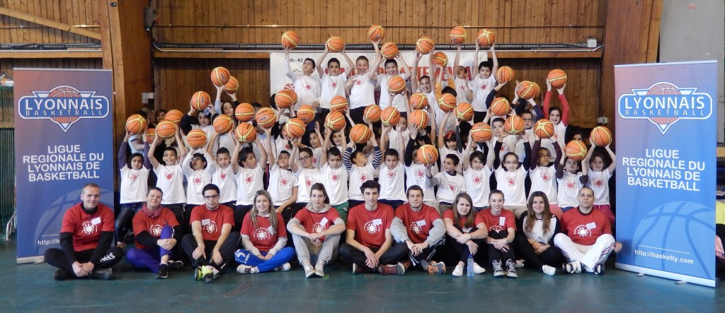 Photo de groupe - Faites du Basket 06032014