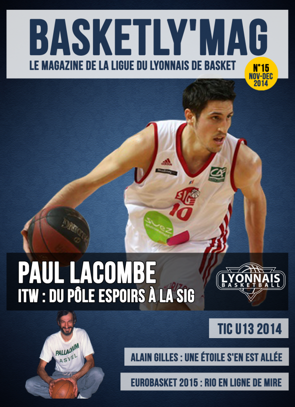Une - BasketlyMag 15 bis