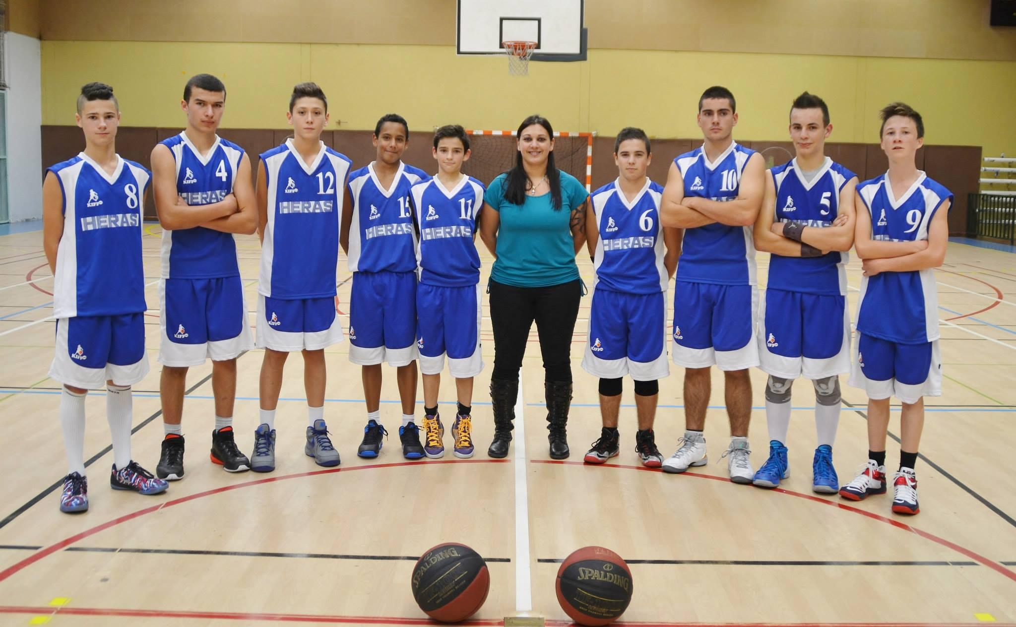 Les U17M (saison 2014-2015)