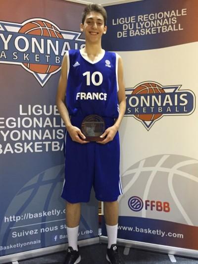 Sofiane Briki MVP France-Turquie
