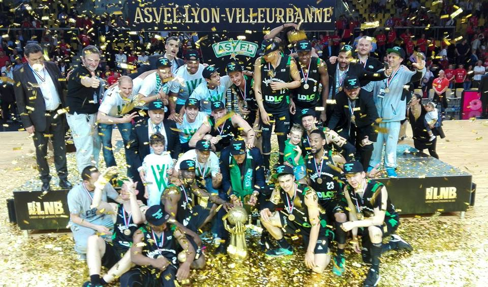 ASVEL Titre Champion de France
