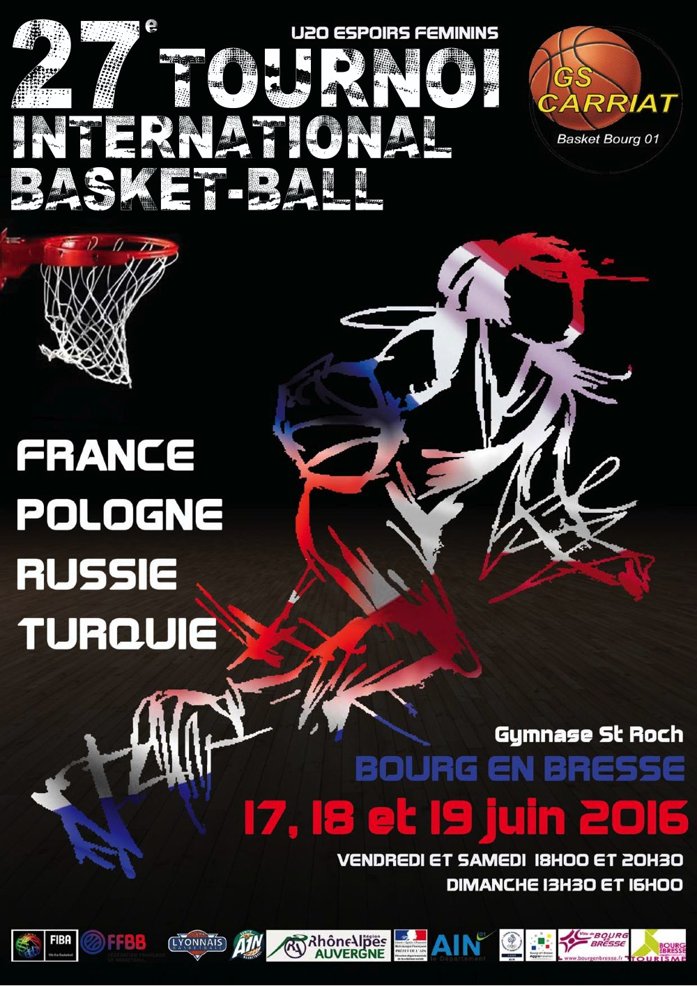 Tournoi International du GS Carriat
