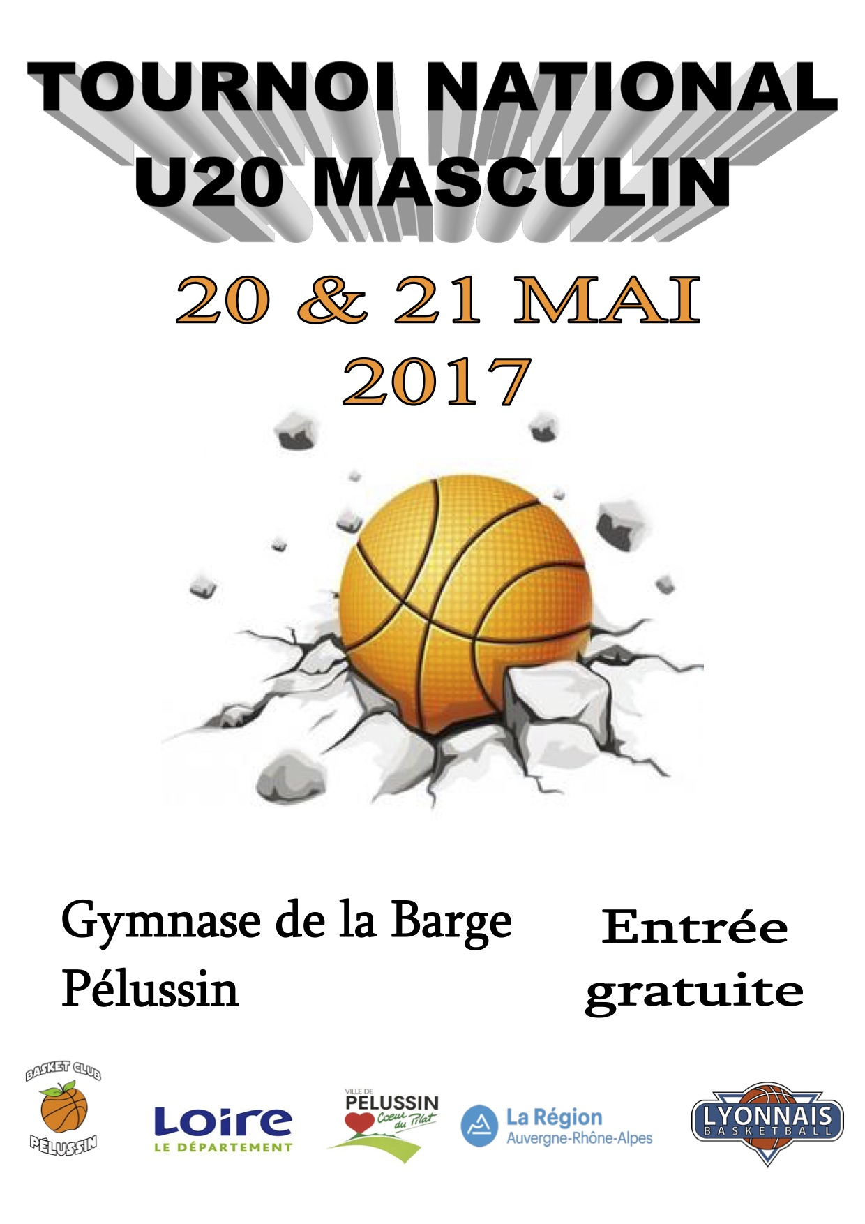 Affiche tournoi national 2017