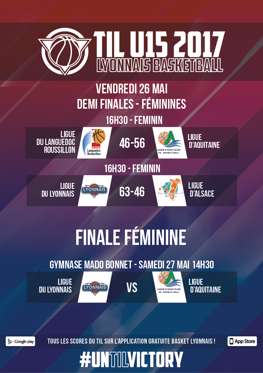 demi-finales-feminines-resultats-til-u15-2017